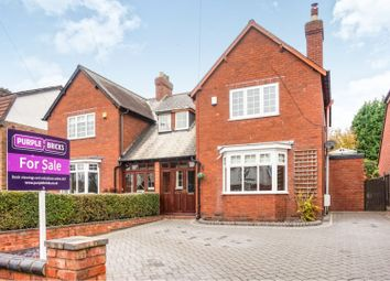 Thumbnail 3 bed semi-detached house for sale in Shortbutts Lane, Lichfield