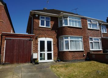 Thumbnail 3 bed semi-detached house for sale in Parkstone Road, Leicester