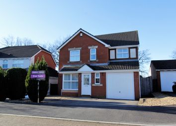 Thumbnail 4 bed detached house for sale in Church Gardens, Cockett