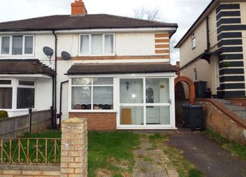Thumbnail 3 bed semi-detached house for sale in Crayford Road, Birmingham, West Midlands