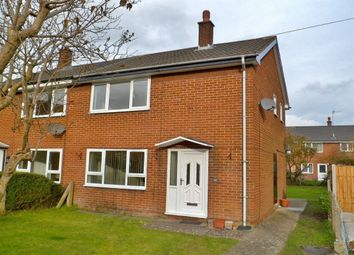 Thumbnail 2 bed semi-detached house for sale in Maes Y Parc, Chirk, Wrexham