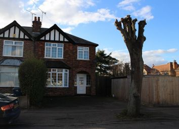 Thumbnail 3 bed semi-detached house to rent in Abbey Road, West Bridgford, Nottingham