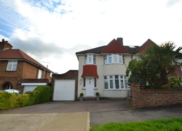 Thumbnail 3 bed semi-detached house to rent in Waverley Avenue, Berrylands, Surbiton
