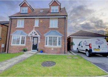 Thumbnail 6 bed detached house for sale in Ladymantle Close, Hartlepool