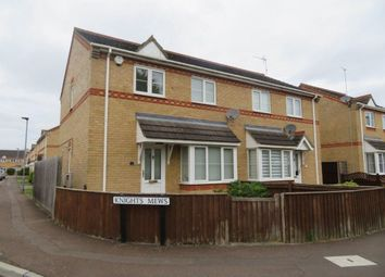 Thumbnail 3 bed semi-detached house to rent in Knights Mews, Peterborough