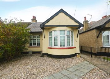 Thumbnail 2 bed semi-detached bungalow for sale in Castle Road, Benfleet