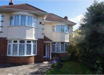 Thumbnail 3 bed detached house for sale in Warnford Road, Bournemouth