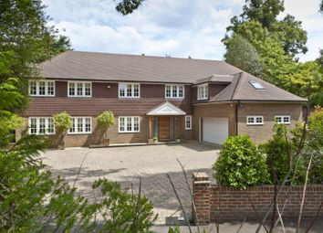 Thumbnail 6 bed detached house for sale in Cobbetts Hill, Weybridge, Surrey