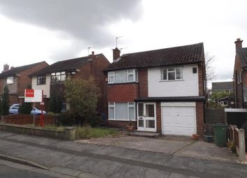 Thumbnail 3 bedroom detached house for sale in Buxton Rd, Hazel Grove, Stockport, Cheshire
