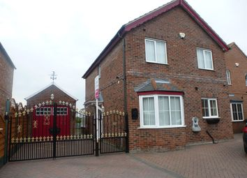 Thumbnail 3 bed detached house for sale in Lord Porter Avenue, Stainforth, Doncaster