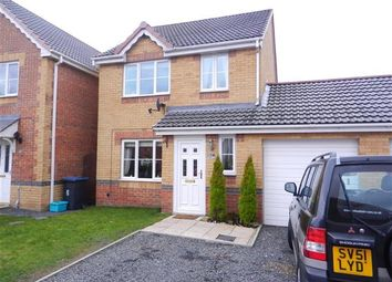 Thumbnail 3 bed detached house for sale in St. Ives Gardens, Leadgate, Consett