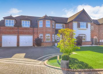 Thumbnail 5 bed detached house for sale in Oakfield Close, Bramhall, Stockport