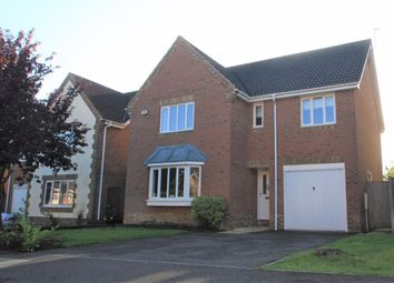 Thumbnail 4 bed detached house to rent in Burton Way, Spaldwick, Huntingdon