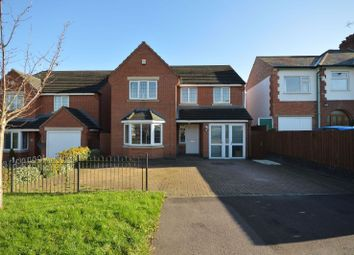 Thumbnail 4 bed detached house for sale in Cork Lane, Glen Parva, Leicester
