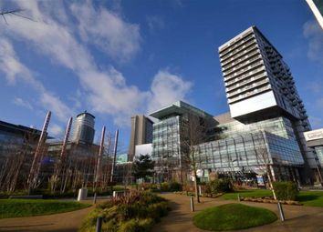 Thumbnail 1 bed flat to rent in Number One, Salford Quays, Media City, Salford