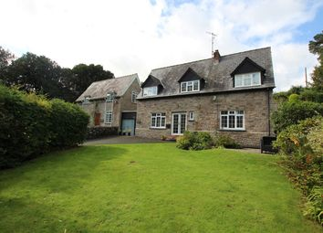Thumbnail 4 bed link-detached house for sale in Llandefaelog Fach, Brecon