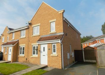 Thumbnail 4 bedroom semi-detached house for sale in Kelstern Close, Bolton