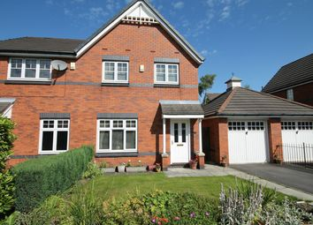 Thumbnail 3 bed semi-detached house for sale in Dixon Green Drive, Farnworth, Bolton