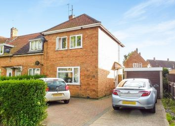 Thumbnail 3 bedroom end terrace house for sale in Thoroughsale Road, Corby