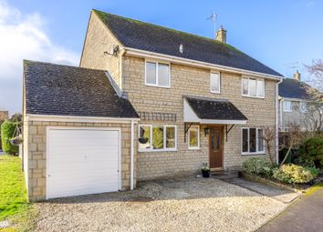Thumbnail 4 bed detached house for sale in Royal Field Close, Hullavington, Chippenham