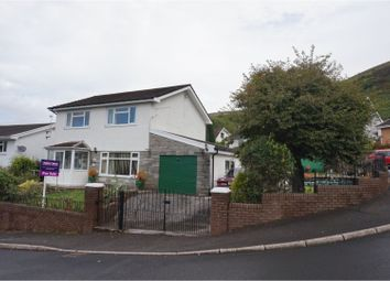 Thumbnail 3 bed detached house for sale in Fernhill Close, Merthyr Tydfil