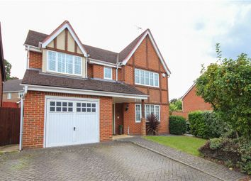 Thumbnail 4 bedroom detached house for sale in Ramsdell Road, Fleet
