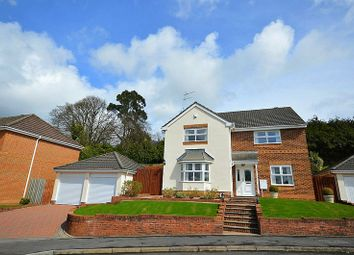 Thumbnail 4 bedroom detached house for sale in Highfield Close, Llanfrechfa, Cwmbran