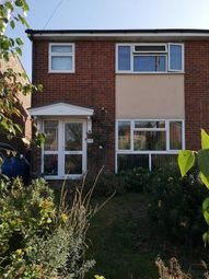 Thumbnail 3 bed end terrace house to rent in Andrew Road, Eynesbury, St. Neots, Cambridgeshire