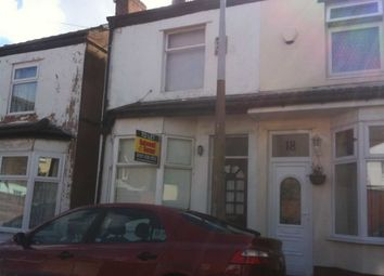 Thumbnail 2 bed semi-detached house to rent in Harrowby Road, Wallasey, Wirral