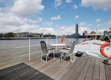 Thumbnail 2 bed houseboat to rent in Tideway Walk, Kirtling Street, Vauxhall