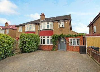 Thumbnail 5 bed semi-detached house for sale in Lyndhurst Avenue, Surbiton, Surrey