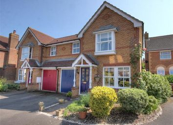 Thumbnail 3 bed semi-detached house to rent in Chestnut Close, Kings Hill, West Malling