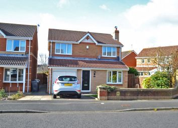 Thumbnail 3 bed detached house for sale in Kestrel Way, North Shields