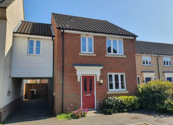 Thumbnail 3 bed link-detached house to rent in Dolphin Road, Norwich