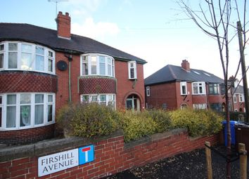 Thumbnail 3 bedroom semi-detached house for sale in Firshill Avenue, Sheffield, South Yorkshire