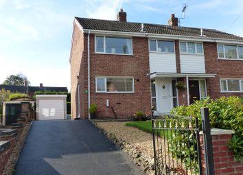 Thumbnail 3 bed semi-detached house for sale in Park Close, Linton, Swadlincote