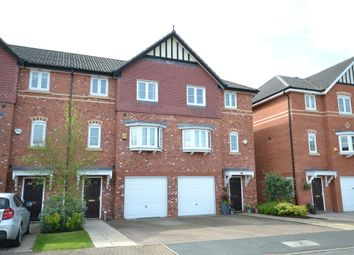 Thumbnail 4 bed town house for sale in Alveston Drive, Wilmslow