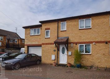 Thumbnail 3 bed semi-detached house for sale in Nazeingbury Close, Nazeing, Essex