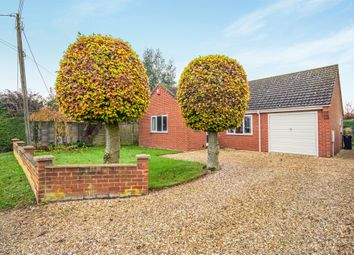 Thumbnail 3 bed detached bungalow for sale in High Street, Wicklewood, Wymondham