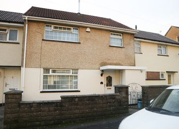 Thumbnail 3 bed terraced house for sale in Ash Crescent, Gurnos, Merthyr Tydfil