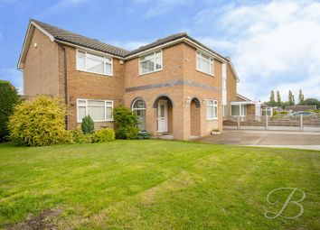 Thumbnail 4 bed detached house for sale in St. Peters Avenue, Church Warsop, Mansfield
