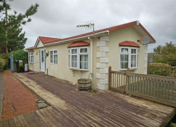 Thumbnail 2 bedroom detached bungalow for sale in Midfield Caravan Site, Southgate, Aberystwyth