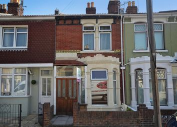 Thumbnail 3 bed terraced house to rent in Lyndhurst Road, Portsmouth