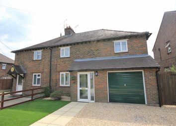 Thumbnail 4 bed semi-detached house for sale in Coppice Close, Farnham
