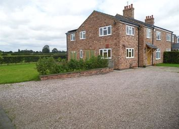Thumbnail 4 bed semi-detached house to rent in Coalpit Lane, Stanthorne, Middlewich