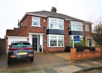 Thumbnail 3 bed semi-detached house for sale in Berberis Grove, Stockton-On-Tees