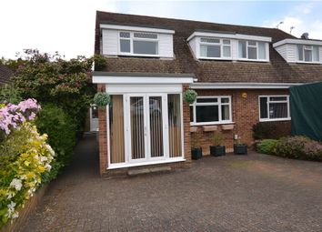 Thumbnail 4 bed semi-detached house for sale in Brooklands Close, Farnham, Surrey