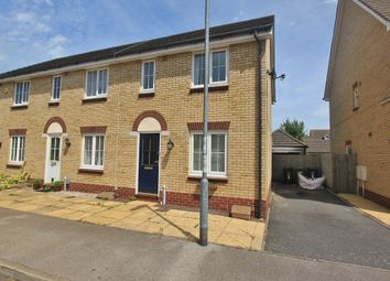 Thumbnail 2 bed end terrace house for sale in Goldfinch Drive, Cottenham, Cambridge