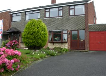 3 bed semi-detached house to rent in Belmont Avenue, Cannock, Staffs WS11
