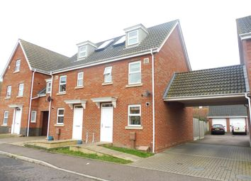 Thumbnail 3 bed town house to rent in Bullfinch Drive, Harleston